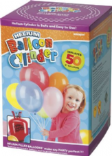 "Disposable Helium Canister for 50 9"" Balloons"